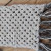 Strikkesæt til tykt langt halstørklæde i netmønster – 100% Baby/Royal-alpakauld