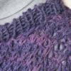 frisenvangLøs sweater i halvpatent – håndspundet 100% Baby/Royal-alpakauld